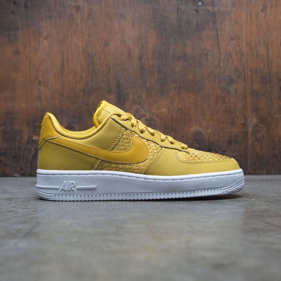 White and yellow Air Force 1 07 sneaker Nike KQnQBfA1