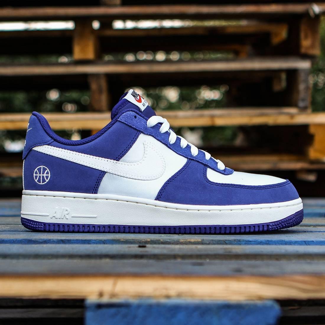 Nike Men Air Force 1 07 Blue Deep Royal Blue Phantom Sail