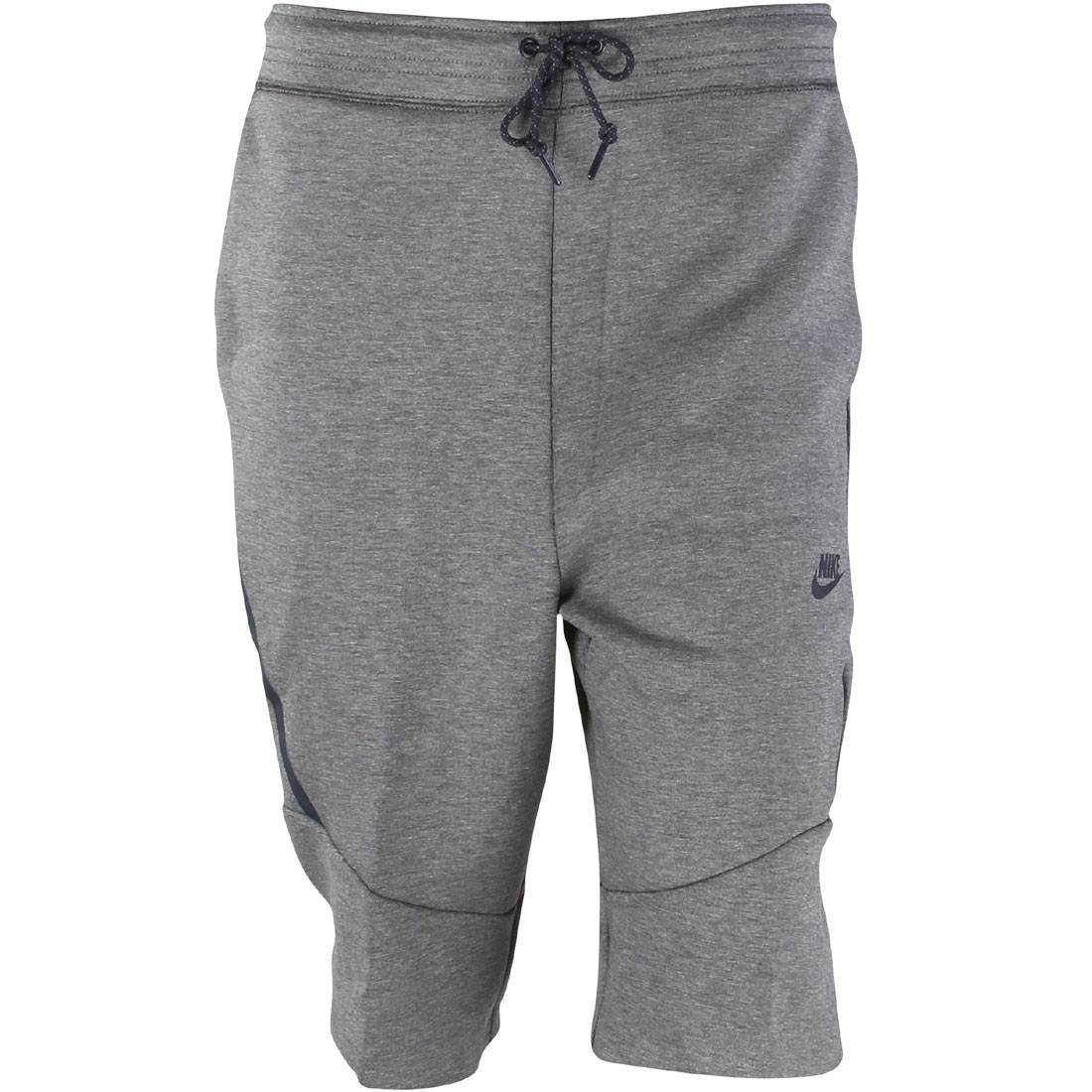 727357 091 nike men tech fleece 2 0 shorts carbon. Black Bedroom Furniture Sets. Home Design Ideas