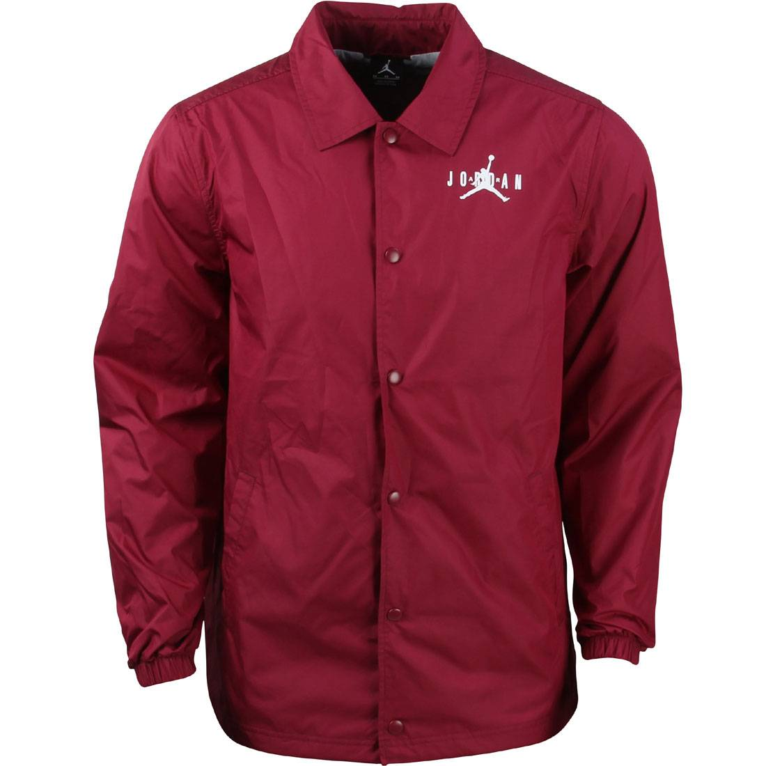 best service 08962 26d65  140.00 802888-615 Jordan Men Air Jordan Men VI Coaches Jacket (burgundy    Maroo