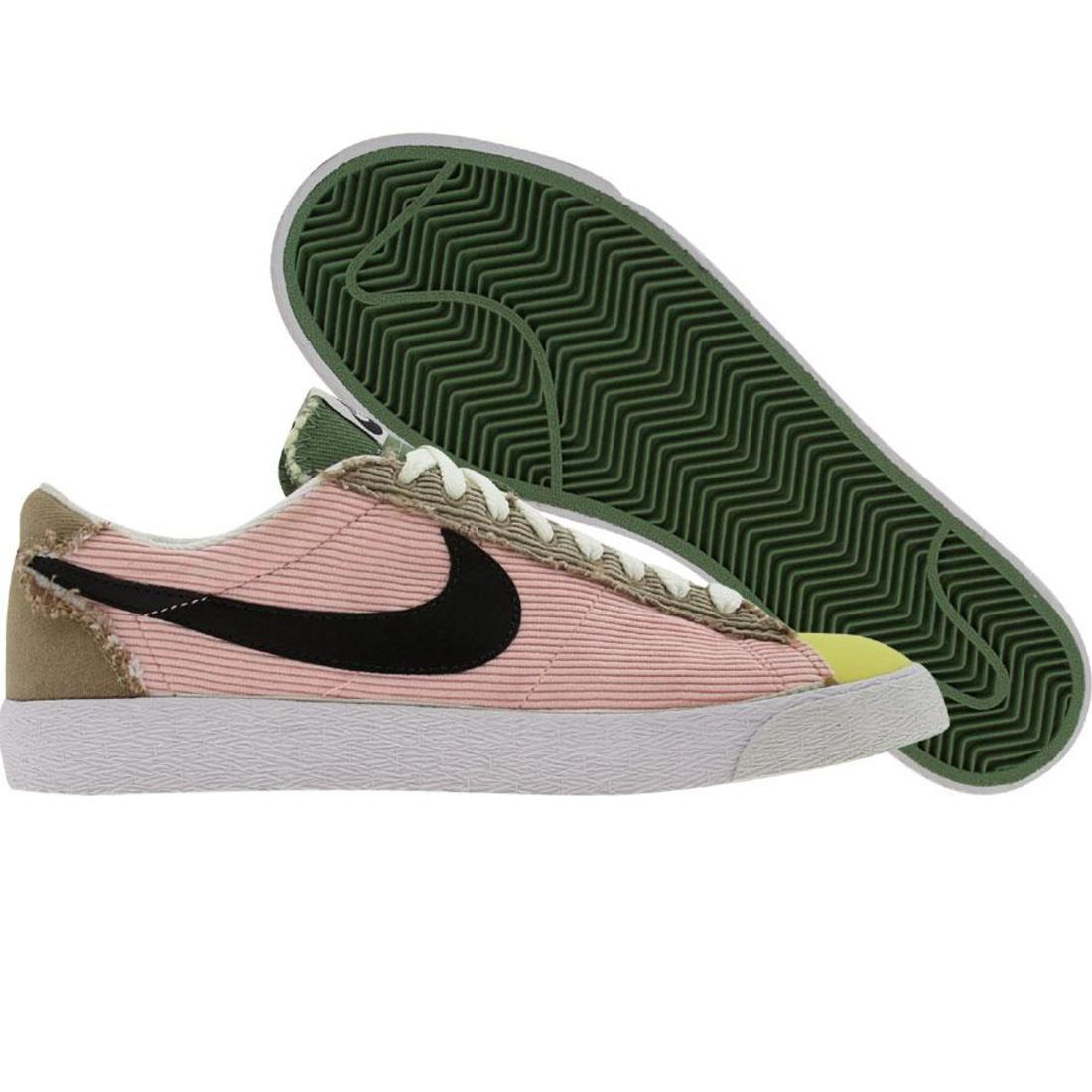 hot sale online e3327 aaa5b ... 317581-601 Nike femmes Blazer Low Classic Carnation Carnation Carnation  Noir Khaki 4dcff9 ...